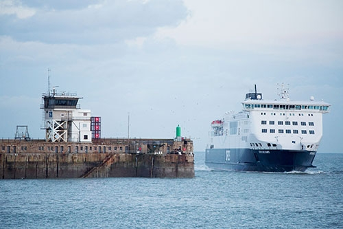 Ankunft in Dover  © DFDS