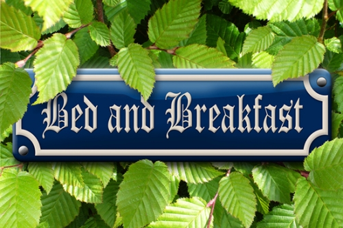 Bed & Breakfast © Fotolia